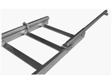 Permanent ladder with retractable stile set