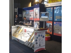 SafetyLink's height safety anchors at The Safety Show