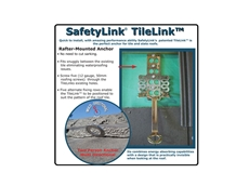 TileLink Rafter Mounted Anchor System from SafetyLink