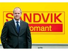 Klas Forsström, the new President of Sandvik Coromant