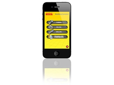 The machining calculator app is available for iPhones and Androis phones