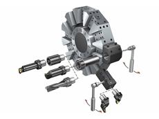 Sandvik Coromant's quick change clamping units