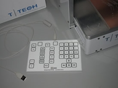 QC-key USB keypad for circuit board prototyping systems