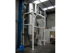 Saurin spray dryer.