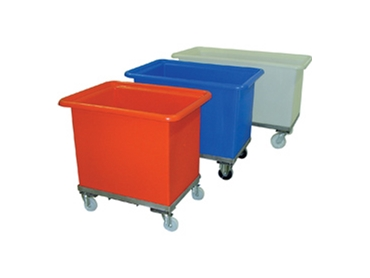 Heavy Duty Tuff Tubs On Trolleys