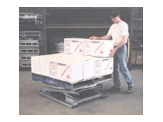 Palift palletising tables from Schaefer Store