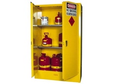 Schaefer Store's flammable safety storage cabinets are fire tested to comply with the FM rating
