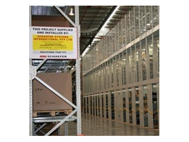 modular warehouse shelving from schaefer systems international ssi. Black Bedroom Furniture Sets. Home Design Ideas