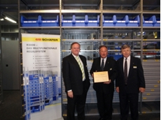 Absolute Storage Systems receives SSI Schaefer International's award