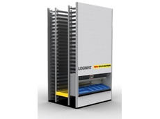 LogiMat storage lifts need just 1/10 the storage space when compared with regualr solutions