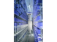 The Miniload Crane from Schaefer Systems International optimises storage systems in sites with limited floor space