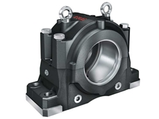 The new generation FAG Plummer Block Housing SNS radically increases bearing life while making lubrication, mounting, and condition monitoring much easier than conventional types.