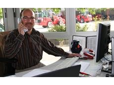 Schaffer Loader's sales manager
