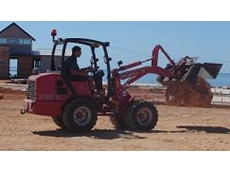 Schaffer 3150 front end loader