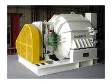 Horizontal vibratory centrifuge.