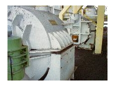 The two SCC1500 coarse coal centrifuges from Schenck.