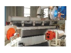 Schenck wet drum magnetic separator.