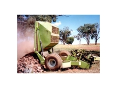 High Capacity Heavy Duty Rock Pickers from Schulte