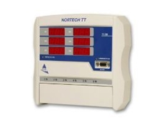 The Nortech TT fibre optic signal conditioner.
