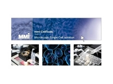 MMI CellTools 5.0 software for greater precision and image quality