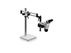 Modular boom stands for microscopes and cameras