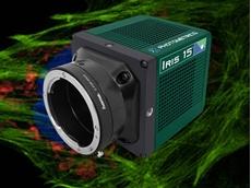 Iris 15 sCMOS camera