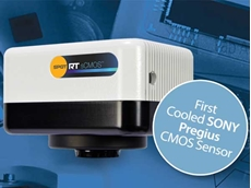 New SPOT RT sCMOS high speed camera with deep cooled CMOS sensor