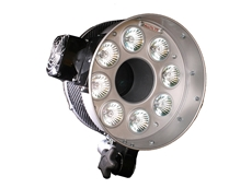 PALLITE VIII continuous, high illuminance floodlights, available from Scitech