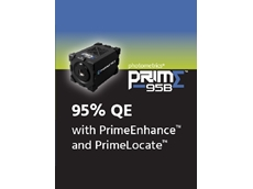 Prime 95B scientific CMOS camera series with high sensitivity