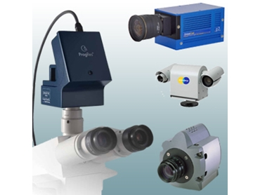 Industrial and scientific digital cameras from SciTech