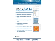 DASYLab v13 Data Acquisition Software