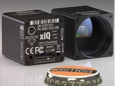 Ultra compact USB3 industrial cameras from Scitech