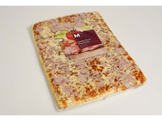 Italian recipe pizza packaged in Cryovac BDF shrink barrier film