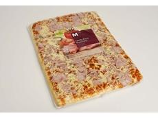 Italian recipe pizza packaged in Cryovac BDF shrink barrier film