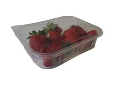 Micro perforation film packs for strawberries