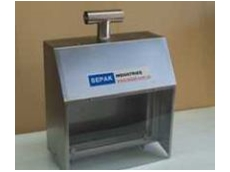 Stainless steel stands are available.