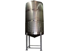Tanks and vessels are manufactured with stainless steel 316 welted parts.