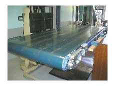 A specialised, magnetic conveyor.