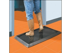 Sanitising footbath mats