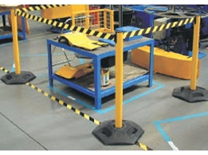 Utility Tensabarrier free standing barrier systems