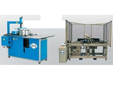 The FittingShaper 1250 (left) and the Spiro Shaper (right) avaialble from Sheetmetal Machinery Australia