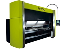 Safan's fully electric press brake with patented belt drive from Sheetmetal