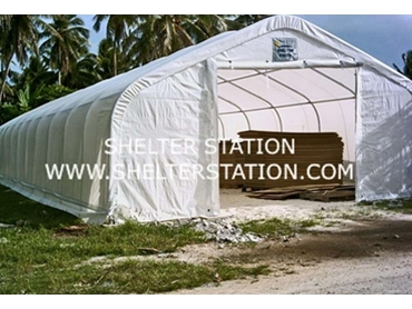The Mutha Shelter is designed for heavy duty industrial equipment storage
