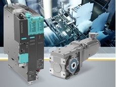 Simotics S-1FG1 servo geared motors are optimally harmonised with the Sinamics S120 converter system