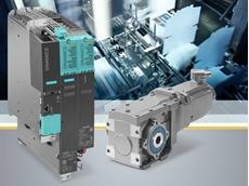 Simotics S-1FG1 servo geared motors are optimally harmonised with the Sinamics S120 converter system