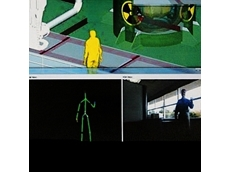 Technicians can use Kinect to simulate movements in the workplace. (Image copyright Microsoft Corp.)