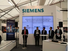 Siemens Australia CEO Jeff Connolly at the signing of the agreement