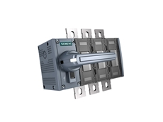 The new 3KD switch disconnectors switch higher currents up to 1600 A and provide enhanced protection functions