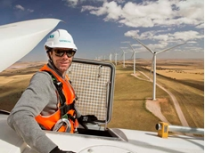 Thanks to Siemens' remote diagnostic centre, only 15 per cent of the problems require service technicians to go onsite and work on the affected wind turbines