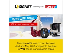 Win big with Signet and tesa during April and May